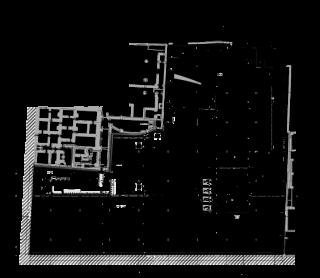 Půdorys 2.PP – typové garážové/podzemní podlaží