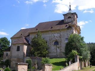 Kostel sv. Barbory v Manětíně