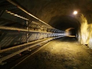 Obr. 01- Současný stav v tunelu Breivik