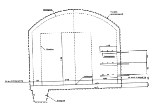 Obr. 05 Normální profil tunelu Breivik