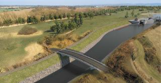 Horní most – nový stav, vizualizace