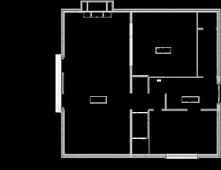 Obr. 06 Racionálnímu členění přízemí vévodí prostorný obývací pokoj s návazností na terasu a jídelnu. Na tomto podlaží pak najdeme ještě kuchyni, šatnu a hygienické zařízení