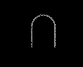 Obr. 12 Geotechnická zarážka do prostor budoucí stanice metra D – Pankrác má délku cca 15 m, profil  cca 2,6 × 3,4 m a je zajištěna stříkaným betonem tloušťky 200 mm, ocelovými KARI sítěmi 8/150 × 150 mm a výztužnými rámy Bretex (zdroj: METROPROJEKT Praha a.s.)