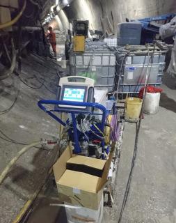 Obr. 09 Čerpadla vystrojená digitálním dataloggerem s dotykovým displejem