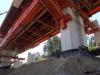 Mostný objekt 209-00, výsuvná skruž