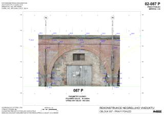 Obr. 08. Příklad fotogrammetrického zaměření klenby
