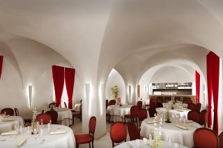 Zámecká restaurace po obnově (vizualizace)