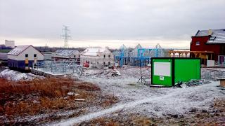 Obr. 08 Realizace ocelových konstrukcí rodinných domů – obytný soubor Zelený Zlonín