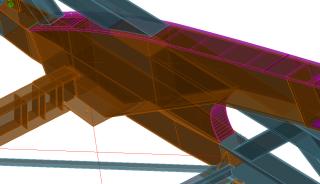 Obr. 07 Detail konstrukce v modelu AS