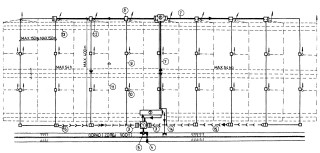 Obr. 08 Schéma optimálního řešení regulační drenáže; 1 – čerpací stanice; 2  –  akumulační  nádrž; 3  –  kon-  cová regulační šachta; 4 – stavidlo; 5 – odběrný objekt; 6 – rozdělovací a dávkovací šachtice; 7 – rozvodné potrubí; 8 – dávkovací regulační šachta; 9 – kolektor; 10 – regulační šachtice; 11 – větrací drén; 12 – větrací šachtice; 13 – regulační drén; 14  – výpustný objekt (s přepadem z nádrže); 15 – odpadní potrubí; 16 – kon-   cová regulační šachta