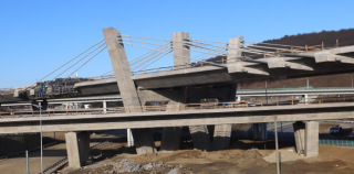 Obr. 07a Pohľad na rozostavaný mostný objekt 201-00 (stav v roce 2020)