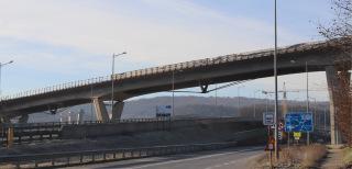 Obr. 08 Pohľad na mostný objekt 208-00 (stav v roce 2020)