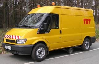 Obr. 2 Měřicí vozidlo TRT