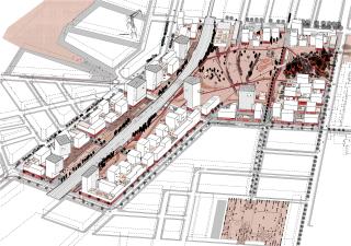 Urbanistická koncepce na zástavbu kolejiště bývalého Severního nádraží na ploše 32 ha z roku 2014. Celkem 4000 bytových jednotek a 2500 pracovních míst je navrženo podél stávající železniční trati a 10 ha rozlehlého parku
