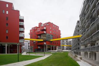 """Sonnwendviertel – """"městský obývák"""""""