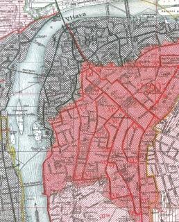 Obr. 02 Schéma pražské kanalizační sítě – soustava A–B