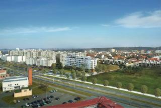 Obr. 02 Rezidenční projekt s doplňkovou komerční funkcí u metra Libuš