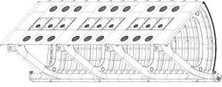 Obr. 05 Pohled na segment horních vrat SO 211, SO 111, 3D model (zdroj: projektová dokumentace)