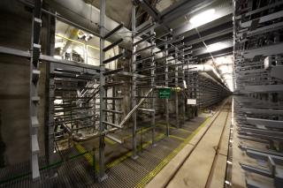 Obr. 27 Ražená technická komora TK103 – pohled do vystrojené technické komory