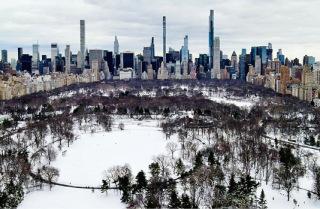 Obr. 25 Superštíhlé rezidenční mrakodrapy v New Yorku