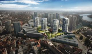 Projekt sa nachádza v zóne Chalupkova, ktorá ráta s výškovou zástavbou