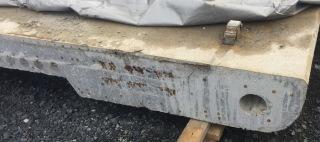 Obr. 11 Beton rýh v typickém průřezu