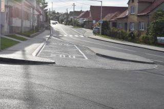 Autobusová zastávka Deblín v novém stavu