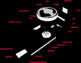 Názorné schéma celého duchovního areálu na Lesné. Architektonická kompozice se skládá ze tří základních hmot – kostela, věže a původního duchovního centra (autor: Atelier Štěpán, Ing. arch. Marek Jan Štěpán)