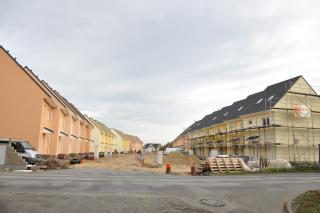 Obr. 2 Brandýs nad Labem – projekt řadových domů