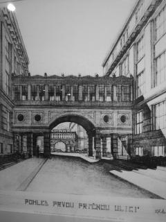 Obr. 02 Návrh architekta Antonína Engela