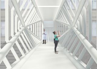 Obr. 03 Vizualizace interiéru vítězného návrhu od firmy ov-architekti, s.r.o.