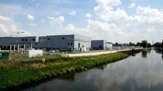 Obr. 1. Pohled na Novou vodní linku ÚČOV Praha po dokončení
