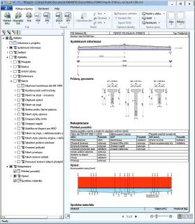 Strukturovaný protokol zadání, výpočtů, návrhů a posouzení