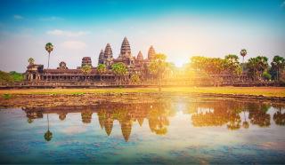 Obr. 01 Centrální stavba chrámového komplexu Angkor Wat (zdroj: AdobeStock)