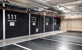 Liaporové tvarovky v garážích byly z větší části barevně sjednoceny