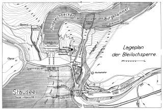 Obr. 3 Situace přehrady
