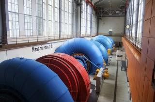 Obr. 6 Soustrojí elektrárny