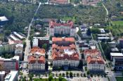 Pohled na současný areál FAST VUT v Brně