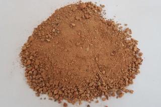 Obr. 01 Cihelný recyklát frakce 0–4 mm