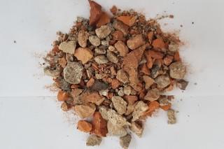 Obr. 03 Směsný recyklát frakce 0–16 mm