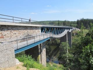 Rekonstrukce mostu v km 1,429 trati Pňovany – Bezdružice