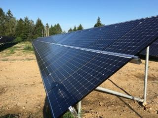 Fotovoltaická elektrárna s akumulací Teplárny Planá nad Lužnicí
