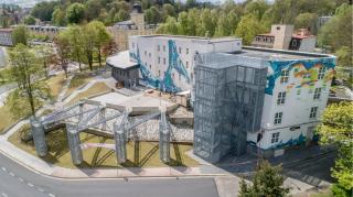 Rekonstrukce Aritma Aš – na Kulturní a vzdělávací centrum LaRitma
