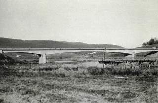 Most u Želnavy, navržený roku 1955