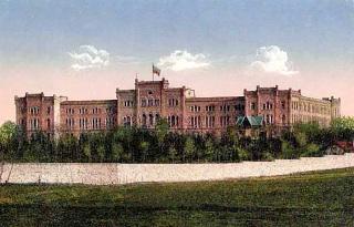 Návrh a realizace vojenské školy, 1877