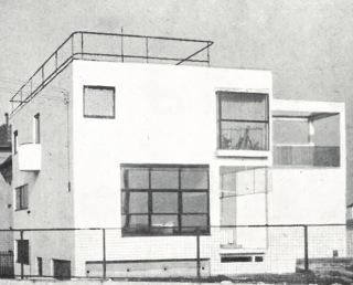 Linhartova vila s ateliérem v Dejvicích, 1927