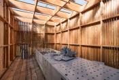 Didaktická venkovní herna, soutěžící Huť architektury Martin Rajniš / David Kubík, Petr Štambach; Vítěz veřejného hlasování v kategorii Dřevěná hřiště – malá