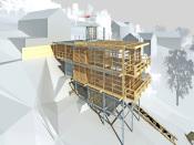 Dům Radčice, soutěžící Huť architektury Martin Rajniš / Martin Rajniš, Tomáš Kosnar; Vítěz odborné poroty v kategorii Moderní dřevostavby – návrhy