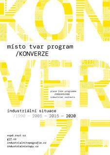 místo tvar program / konverze  –  industriální situace 1990–2005–2015–2020