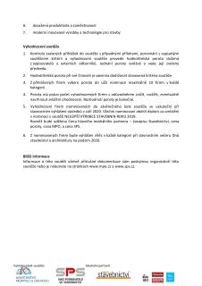 Podmínky soutěže, strana 2